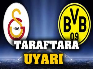 Dortmund'dan taraftarına alkol uyarısı!