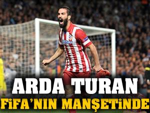Arda Turan FIFA'nın manşetinde