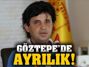 Göztepe'de ayrılık!