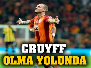 Sneijder, Cruyff olma yolunda