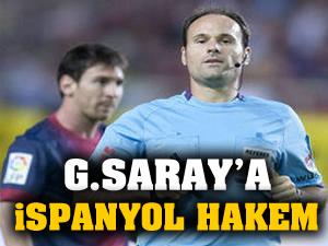 Dortmund maçına İspanyol hakem