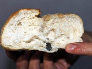 Ekmeğin içinden çıkan şaşırttı!