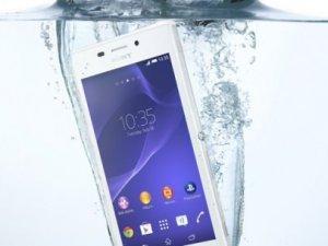 Sony'den orta seviye suya dayanıklı akıllı telefon!