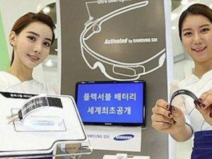 Samsung dünyanın en esnek bataryasını üretti!