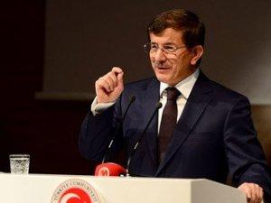 Başbakan Davutoğlu parti grubunda konuştu