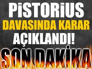 Oscar Pistorius'a 5 yıl hapis cezası!