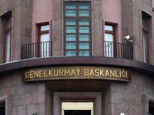 TSK açıkladı! Ankara'da Türk bayrağı indirildi!