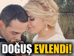 Şarkıcı Doğuş evlendi!