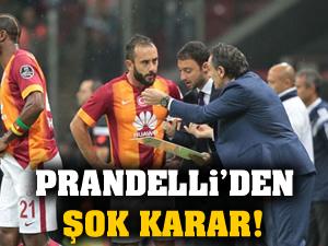 Prandelli, Olcan ve Bruma'yı kadroya almadı