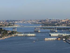 İstanbul'da koca köprü kayboldu!