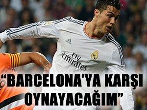 Ronaldo, Barça maçıyla ilgili konuştu