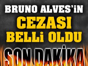 PFDK, Fenerbahçeli Bruno Alves'e 2 maç ceza verdi