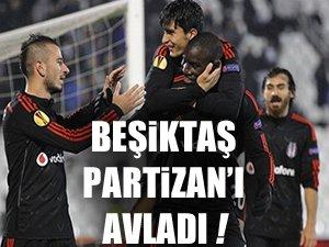 Beşiktaş'tan Avrupa şovu