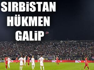 UEFA, Sırbistan'ı galip ilan etti