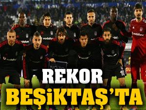 Beşiktaş, Galatasaray'ın rekorunu egale etti!