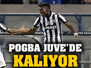 Juve, Pogba'yı bırakmıyor