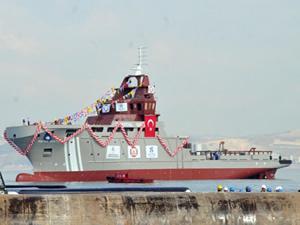 Türkiye'nin ilk acil müdahale gemisi