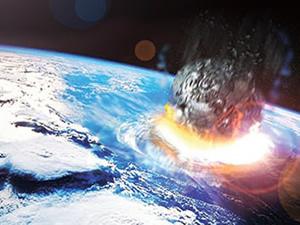 Dünya'yı ikiz göktaşı vurmuş