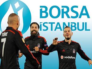 Beşiktaş borsada da gülüyor