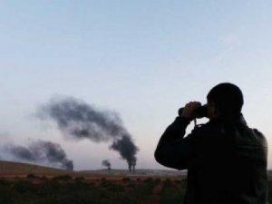 IŞİD kentleri yakıyor