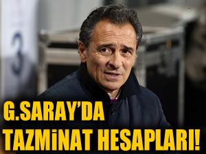Galatasaray'da tazminat hesapları