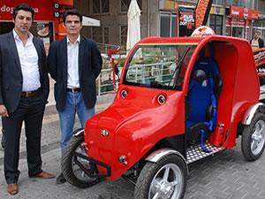 Elektrikle çalışan otomobil ürettiler