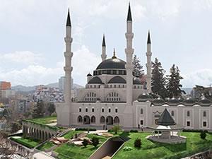 Türkiye'ye, Avrupa'da en büyük cami inşaa edecek