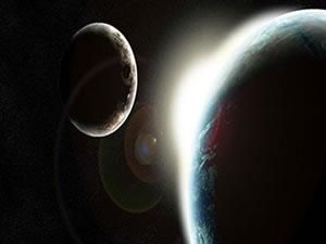 Ay ve Dünya arasındaki mesafeye bütün gezegenler sığabilir
