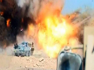 IŞİD'den Irak ordusuna bombalı saldırı