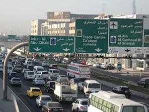 Dubai'de trafik sorununa ilginç çözüm