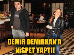 Sertab Erener Demir Demirkan'a nispet yaptı!