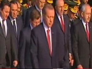Anıtkabir'deki 29 Ekim töreninde bir ilk