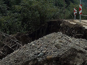 Sri Lanka'da toprak kayması: 10 ölü 250 kayıp