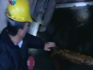 İşçilerin mahsur kaldığı maden ocağının içi görüntülendi!