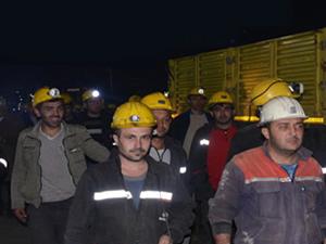 O madende işçiler ihtiyaçlarını nasıl gideriyorlarmış! İşte cevabı...