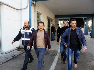 Mersin'de 18 emniyet mensubu adliyeye sevk edildi