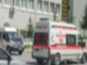 Yolcu minibüsü devrildi: 17 yaralı
