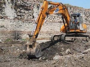 Yedikule'deki inşaat tekrar başladı!
