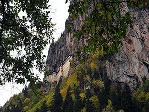 Sümela Manastırı turizmin kalbi