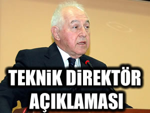 Duygun Yarsuvat'tan teknik direktör açıklaması