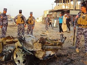 Bağdat'ta bombalı saldırı: 10 ölü