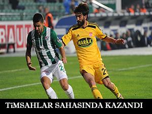 Bursaspor sahasında kazandı