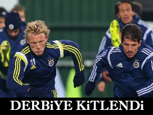 Fenerbahçe derbiye kitlendi