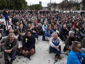 Paris'te 66 kişi gözaltına alındı