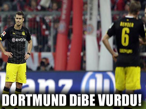 Dortmund dibe vurdu!