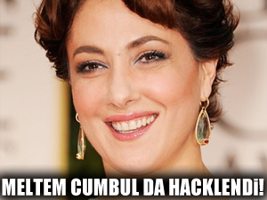 Meltem Cumbul da hacklendi!