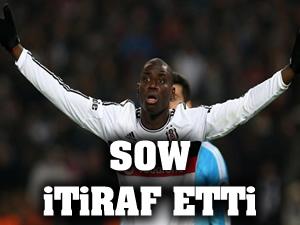 Demba Ba 'Sow da penaltı dedi'