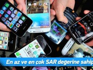 Hangi telefon ne kadar radyasyon yayıyor