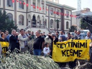 Soma'da termik santral istemiyoruz eylemi