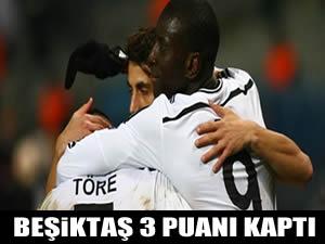 Demba Ba attı Beşiktaş kazandı